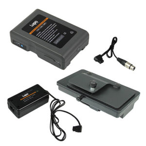 Lupo v-lock lithium ion battery kit