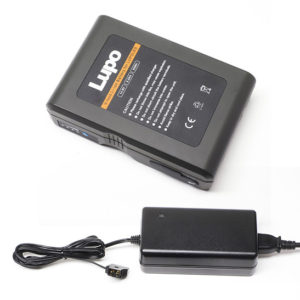 Lupo V-mount lithium-ion battery with charger