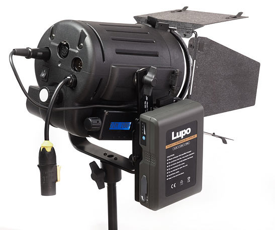 Lupo with Lithium Ion Battery Pack Attached