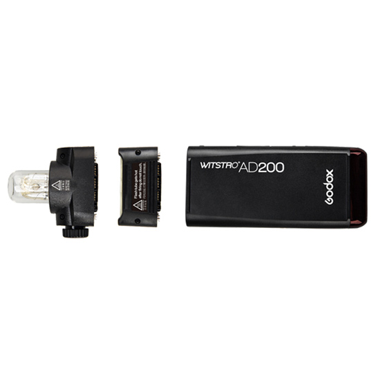 Godox AD200 Flash Head Options